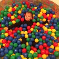 Сухой бассейн с шариками 1,7 м